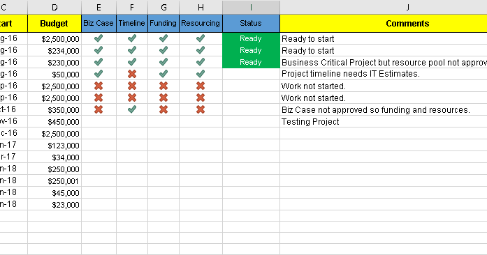 Project Pipeline Tracker  Free Excel Template  INDZARA