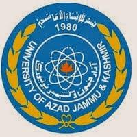 AJK University M.Com Result 2017