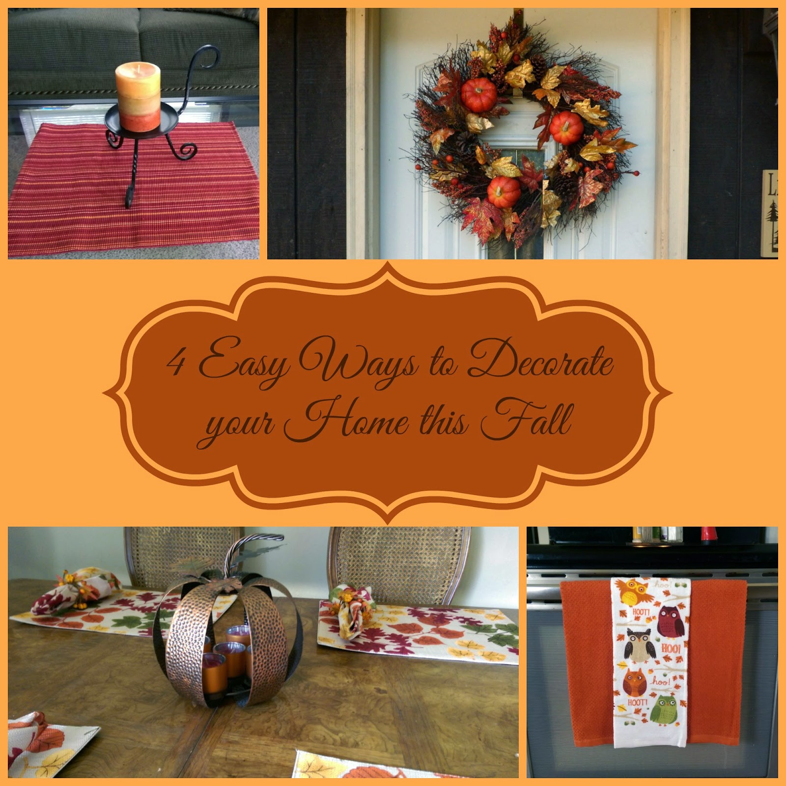 4 Easy Ways To Decorate Your Home This Fall