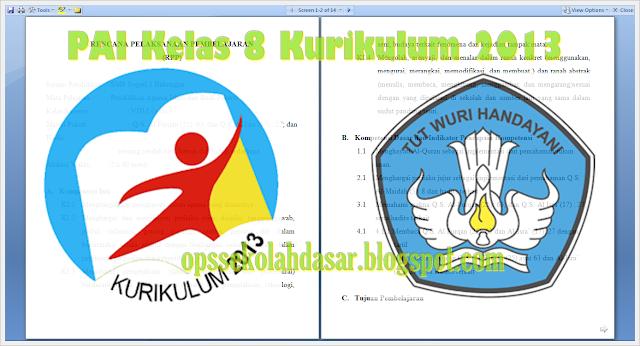 Download PAI Kelas 8 Kurikulum 2013 Revisi Tahun 2016 Format Docs
