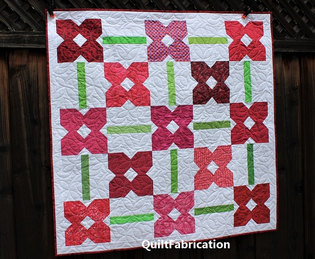Petunia Patch quilt #1 from Scrappy and Happy Quilts book