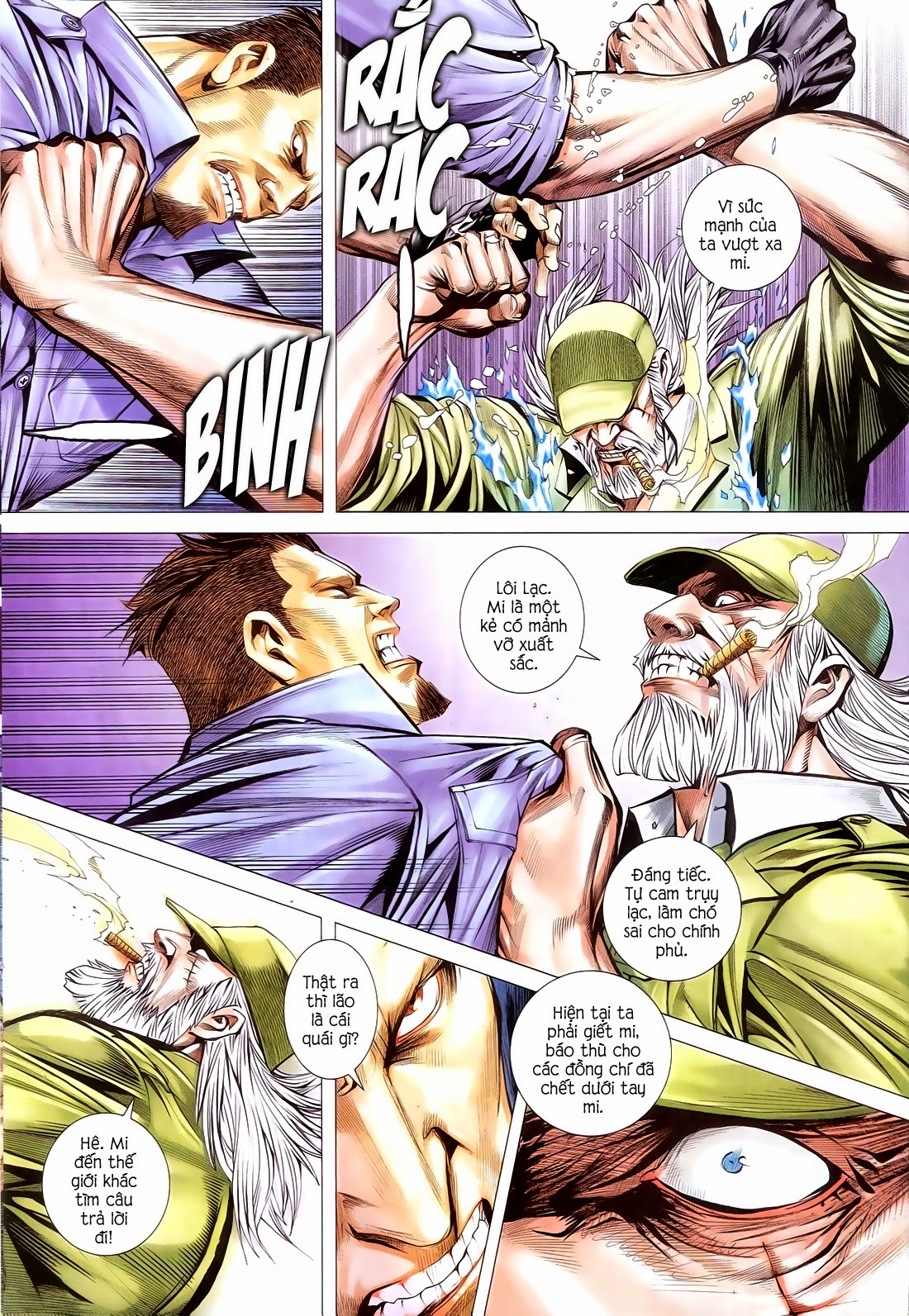 Đại Quân Phiệt chap 14 trang 19
