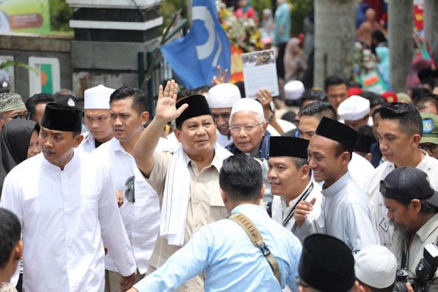 Suara Prabowo di Jateng Naik, Toko Sebelah Stagnan