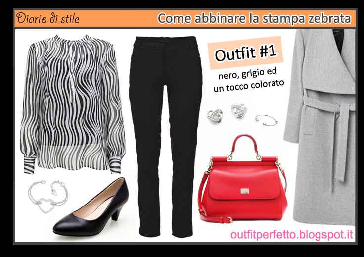 sale retailer 151a3 e7f36 Outfit Perfetto: Animalier: come abbinare la STAMPA ZEBRATA