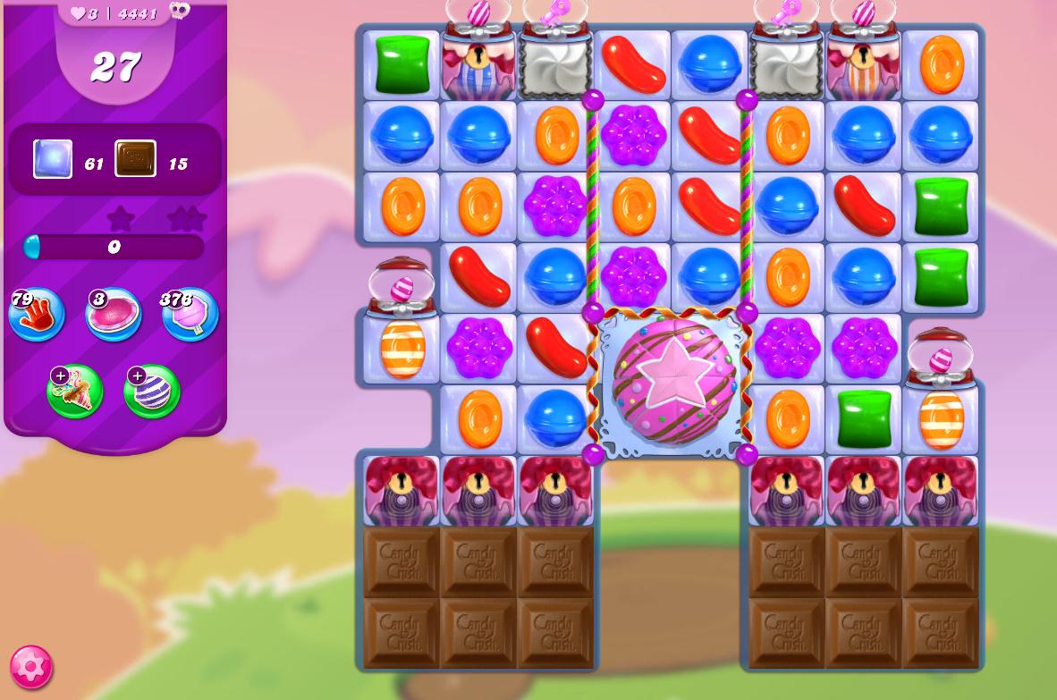 Candy Crush Saga level 4441
