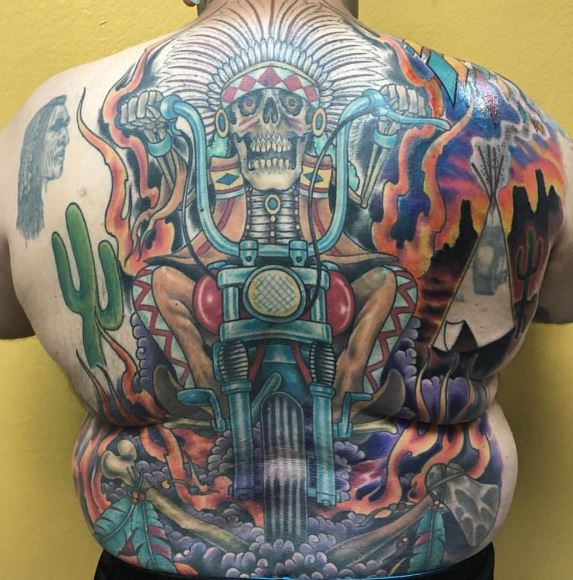 Biker Tattoos