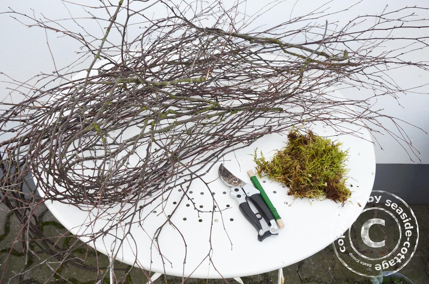 seaside cottage diy ein nest aus birkenzweigen. Black Bedroom Furniture Sets. Home Design Ideas