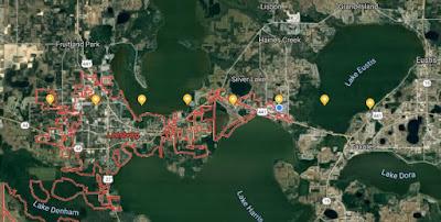 Phenomenon of Worldwide Hum - Leesburg to Tavares, FL
