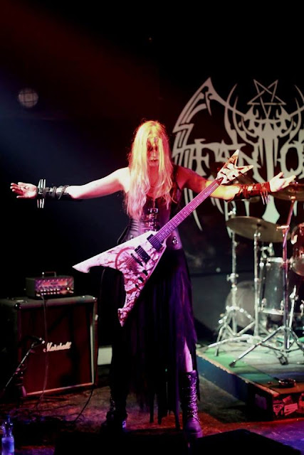 Ladies of Metal: Scythe (Darkestrah), Ladies of Metal, Scythe, Darkestrah
