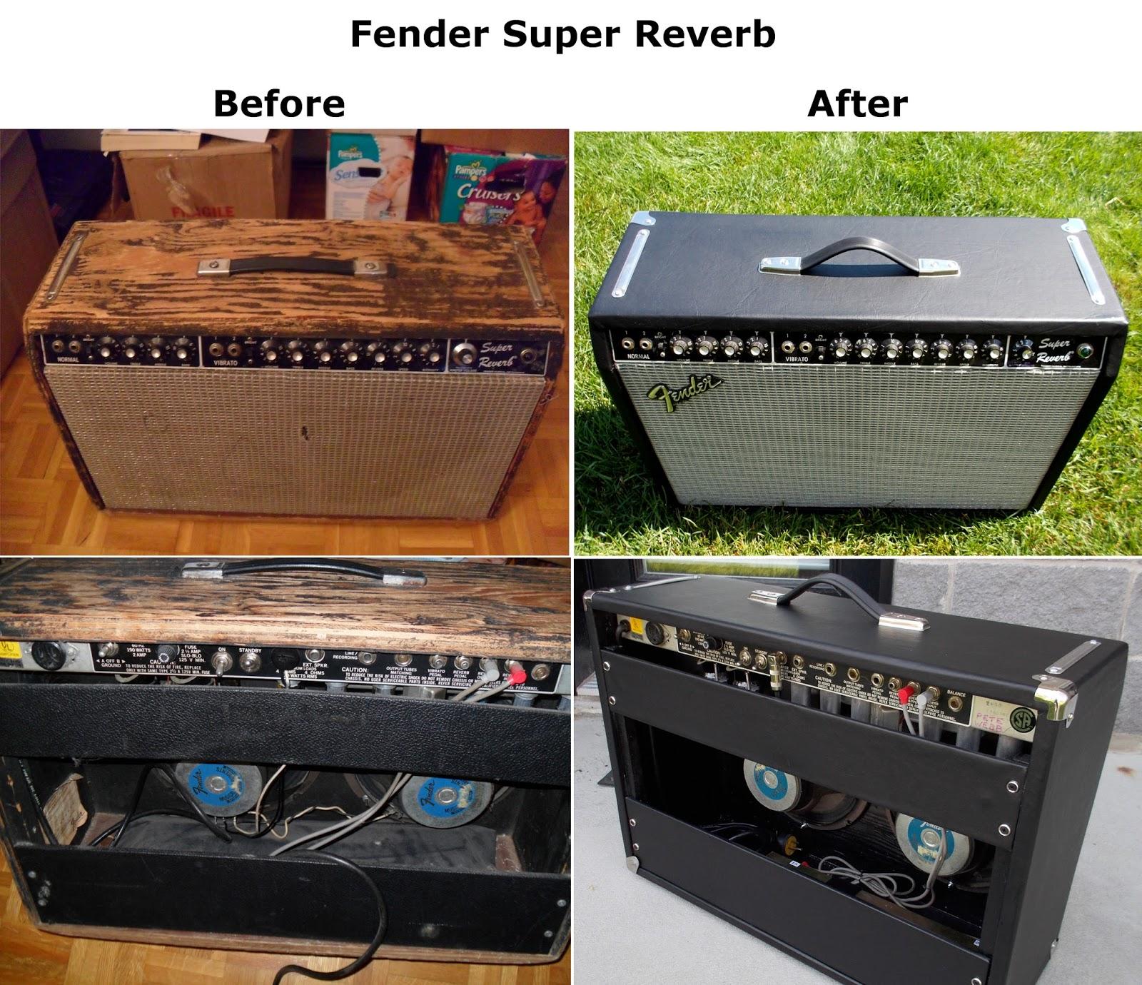 PTW Amps: Rebuilt 1980 Fender Super Reverb