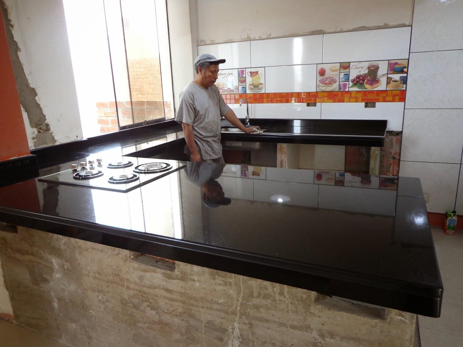 Cubiertas topes encimeras cocina granito marmol for Encimera cocina marmol o granito