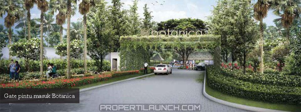 Gate Cluster Botanica Vida Bekasi