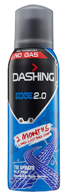 DASHING ADVENTURER 2.0  THE FIRST BREAKTHROUGH INNOVATION IN MALAYSIA  -Dashing Deodorant Spray 150ml EDGE 2.0