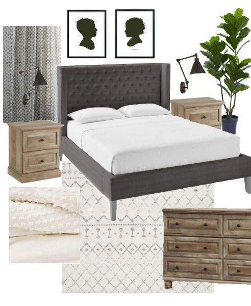 modern farmhouse bedroom inspiration, amazon deals