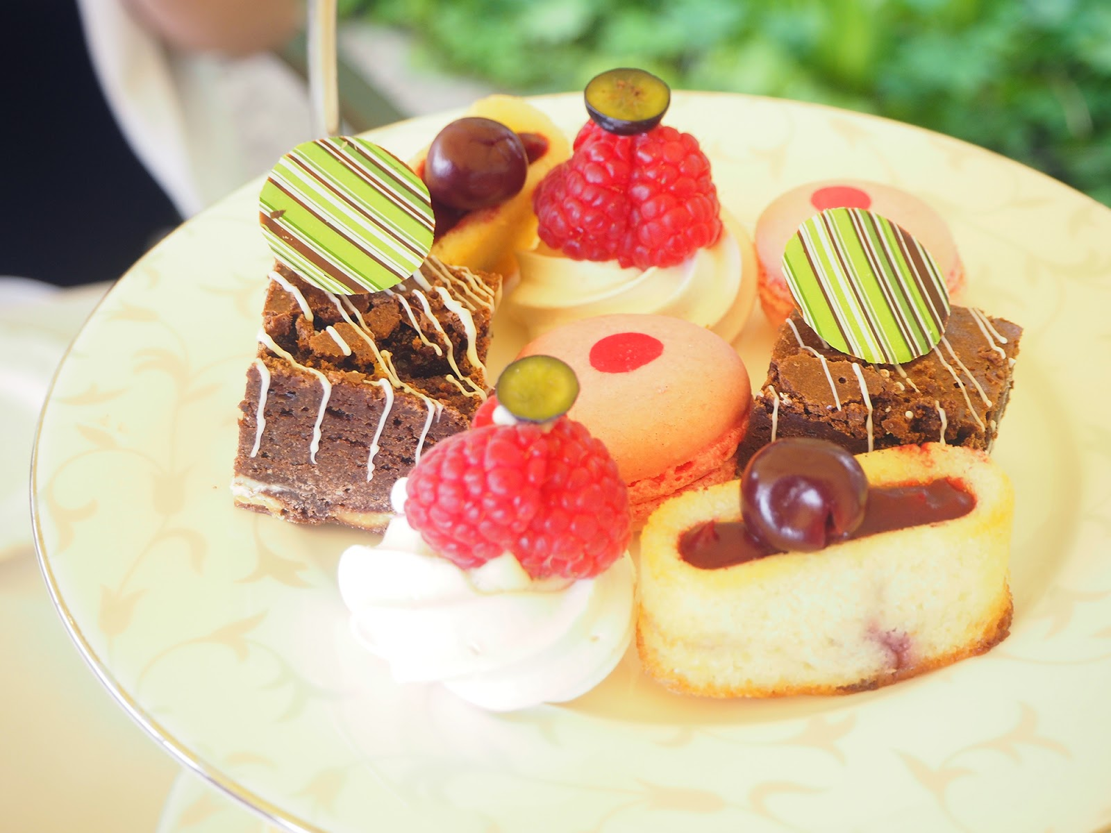 Afternoon tea review at South Lodge in Horsham - afternoon tea cakes