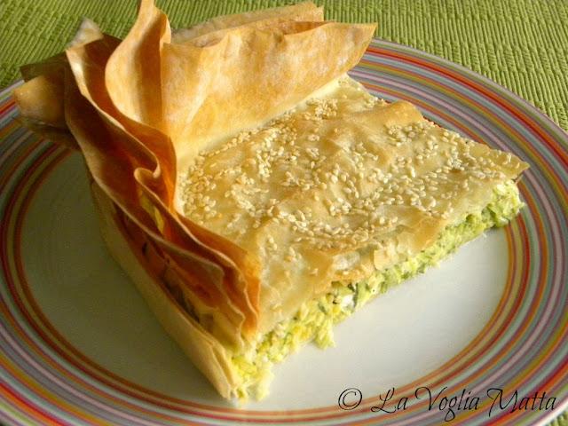 Cucina greca : Kolokithopita