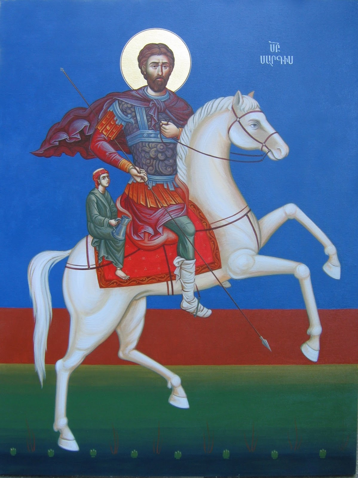 """The Armenian Valentine"": Saint Sargis the General was a fourth century soldier in the Roman army who was persecuted for his Christian faith. Though he sought refuge in Armenia, under the protection of Tigranes VII, he was later beheaded by Sasanian king Shapur II. Today, he is celebrated as the Armenian patron saint of love and youth, with a feast day that falls on the third Saturday before Lent."
