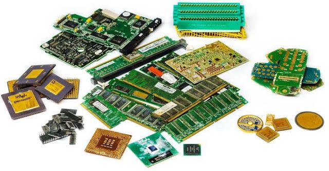 Ternyata Perangkat Elektronik Mengandung Emas