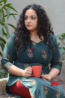 Nithya Menon promotes her latest movie in Green Tight Dress ~  Exclusive Galleries 004.jpg