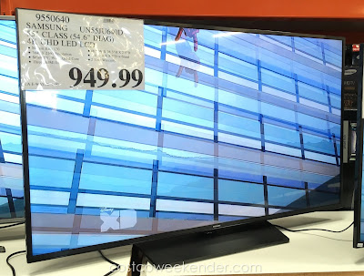 Samsung UN55JU640D 55 inch UHD LED LCD TV - Perfect for any small living or family room