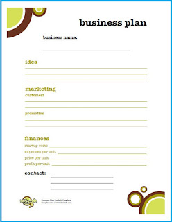 simple business plan template pdf