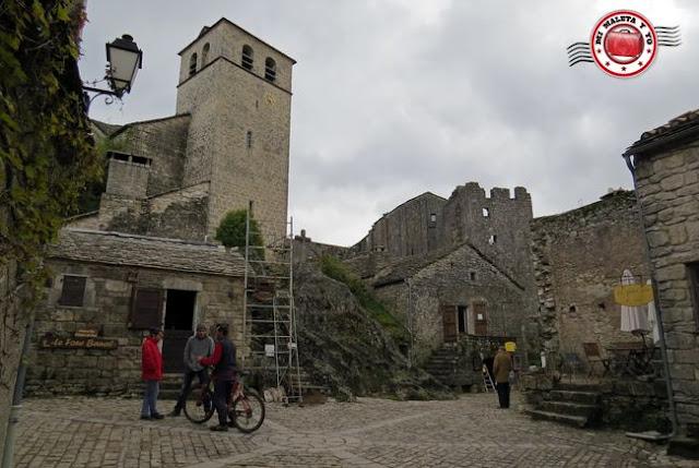 La Couvertoirade - Iglesia y horno