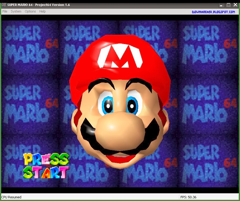 Super Mario 64 Project 64