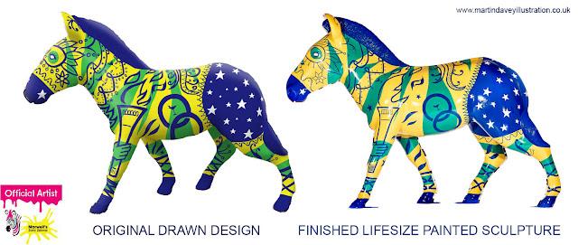 rio casa brazil zany zebra Davey southampton art