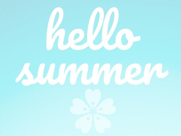 Hello Summer ☼ {Summer To Do List}