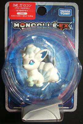 Alolan Vulpix figure in Takara Tomy Monster Collection MONCOLLE EX EMC series