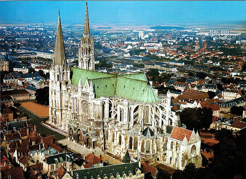 Mirarte catedral de chartres for Piscine de chartres