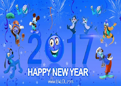 2017 new year ecards
