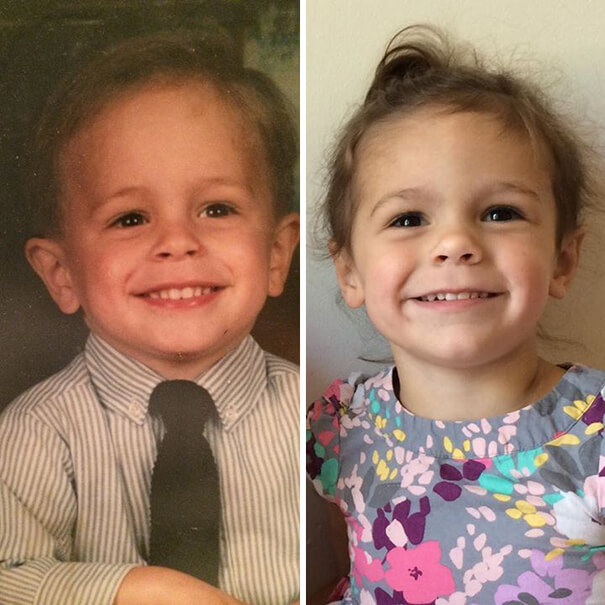 Incredible Family Pictures Of Children Looking Exactly Like Their Parents Did When They Were Younger