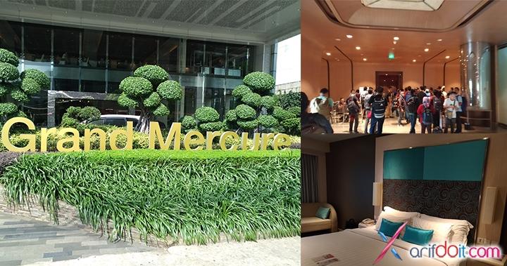 Lokasi penginapan hotel Grand Mercure seperti acara Zenfestival 2015