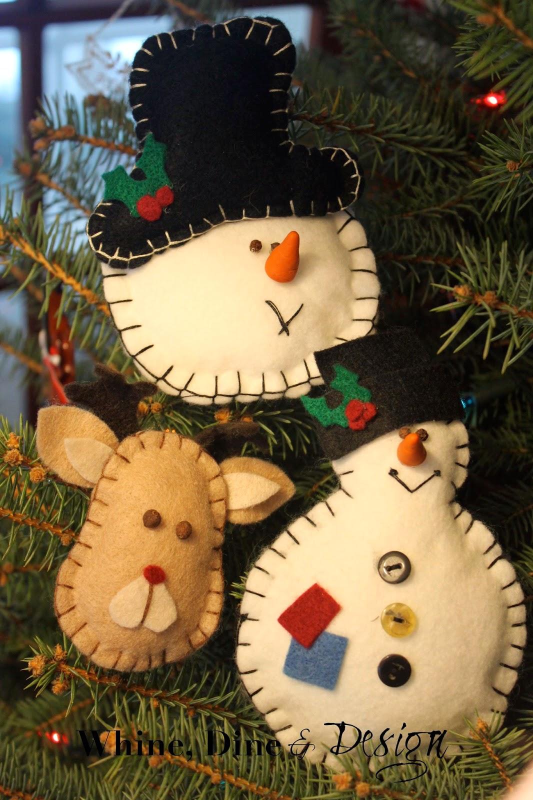 Felt Decorations Christmas
