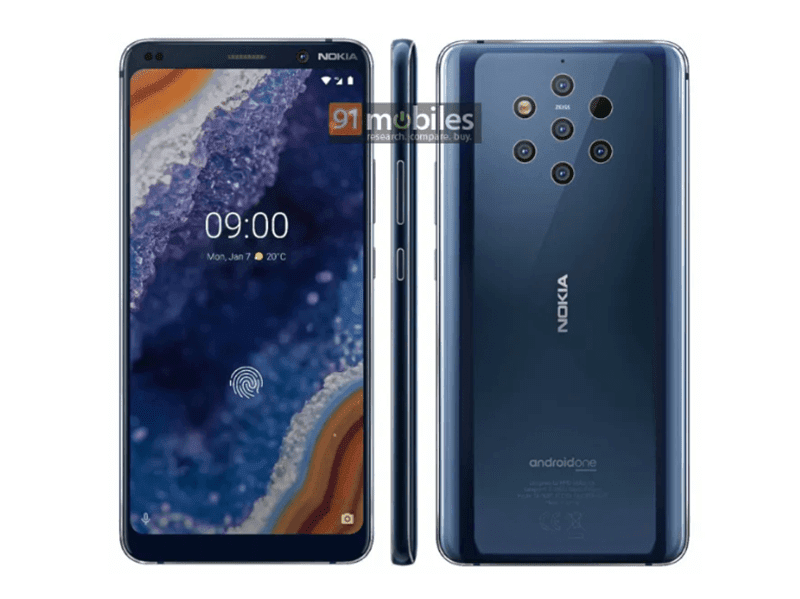 "Alleged ""official"" Nokia 9 PureView renders appeared online"