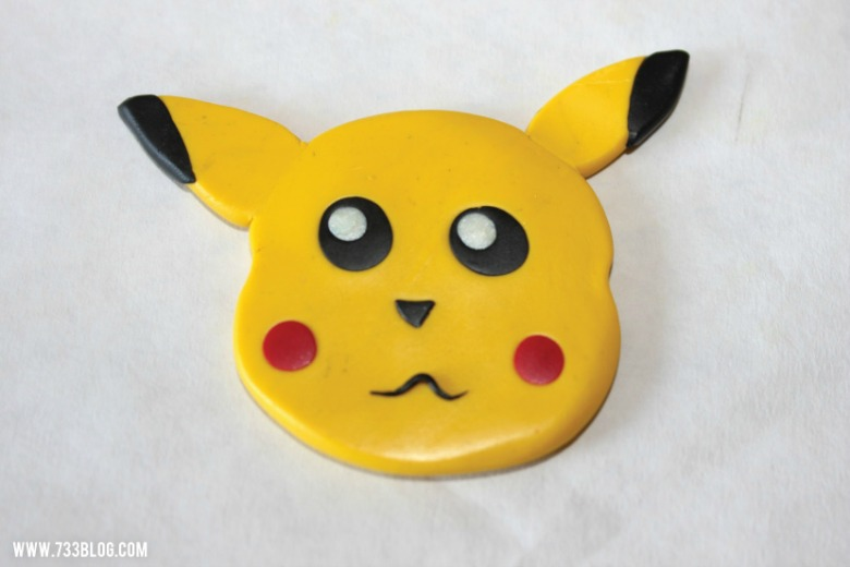 clay pokemon pikachu ornament - Pokemon crafts for kids