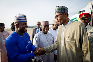 PMB in Kano for two-day official visit