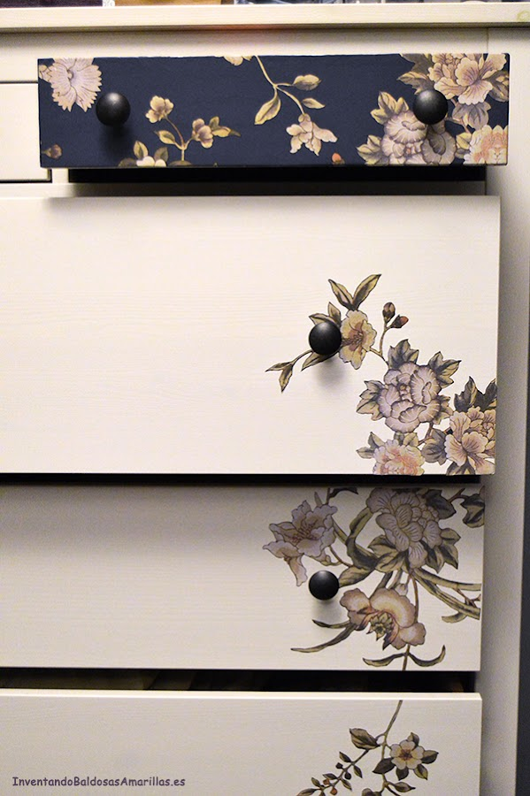 tutorial decorar muebles papel