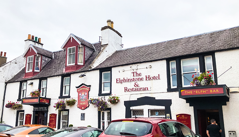 Elphinstone Hotel Biggar Review | Colours and Carousels - Scottish Lifestyle, Beauty and Fashion blog