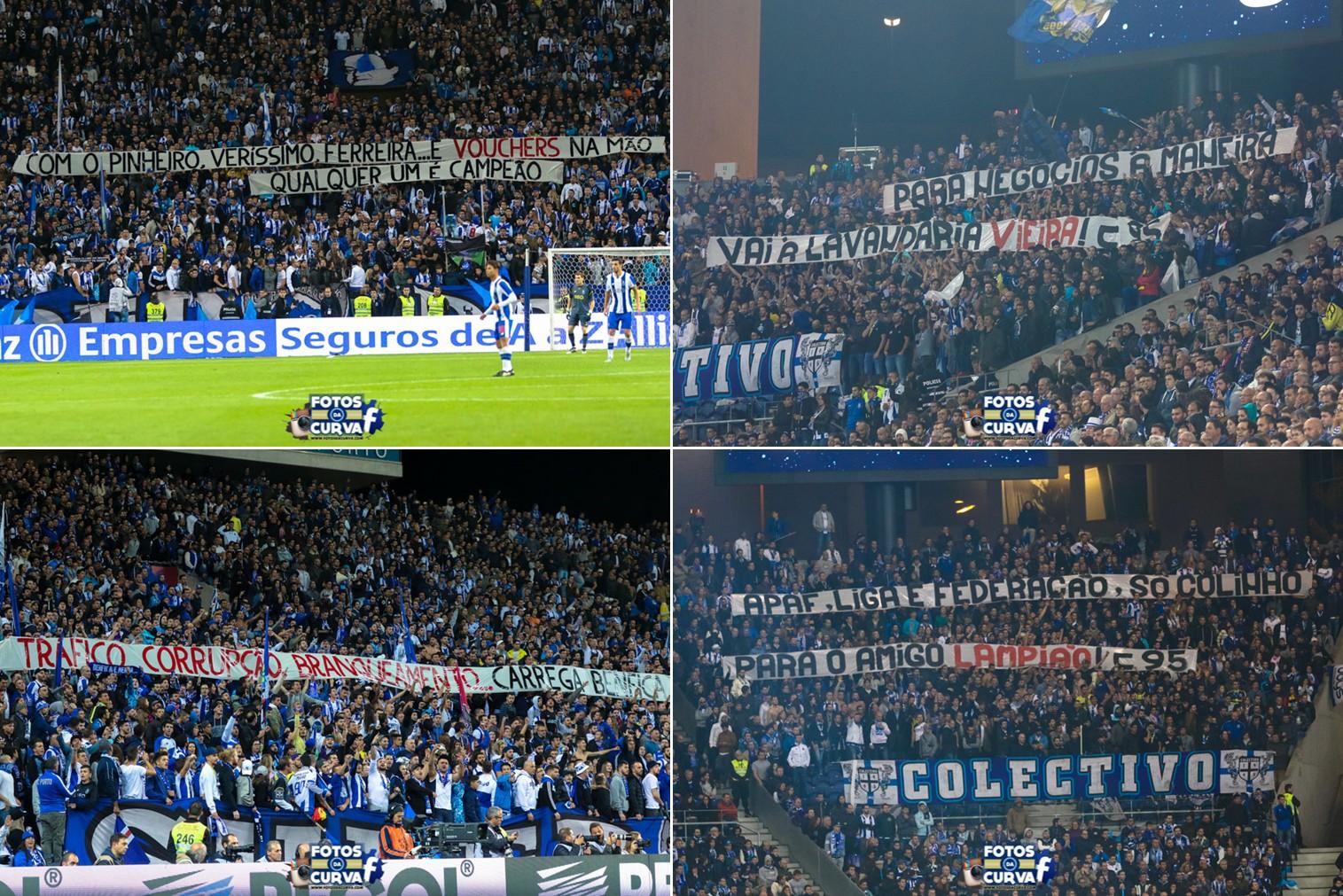 Reflexão Portista  As mensagens das claques do FC Porto 341cd3849e7fc