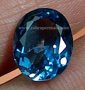 Batu Permata London Blue Topaz