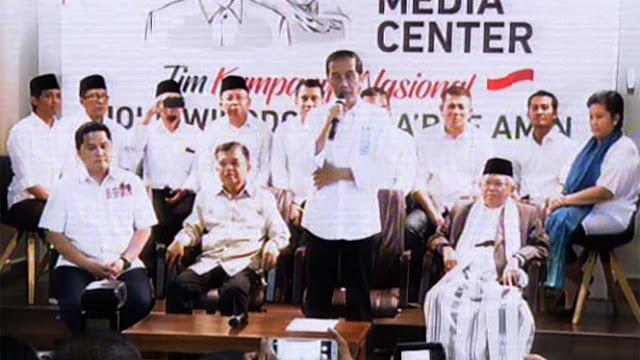 Alasan Jokowi Pilih Erick Thohir Jadi Ketua Timses
