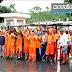 Com salários atrasados, funcionários da limpeza urbana protestam e pedem socorro