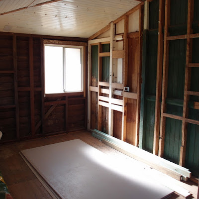 eight acres: planning our bathroom