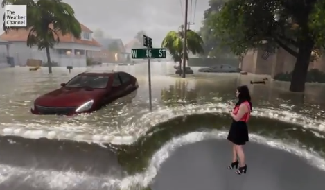 Media Confidential: The Weather Channel Vividly Depicts Storm Surge