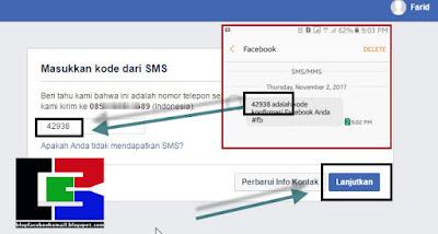cara membuat akun facebook dengan nomer