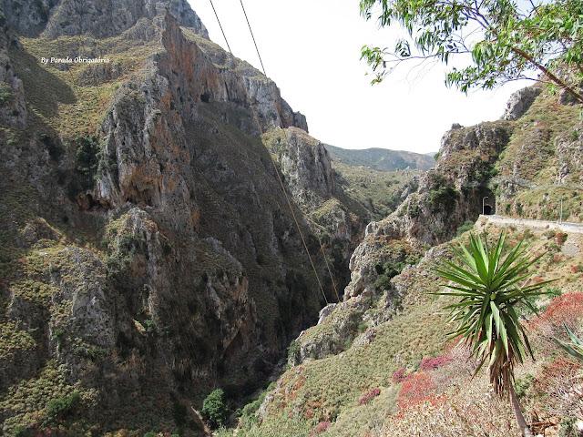 Canyon Kourtaliaton - Creta, Grécia