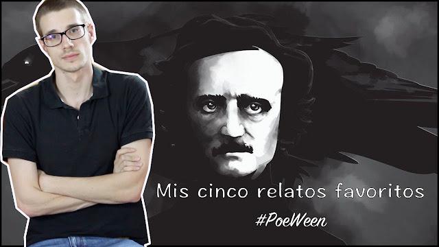 Cinco relatos Edgar Allan Poe #PoeWeen