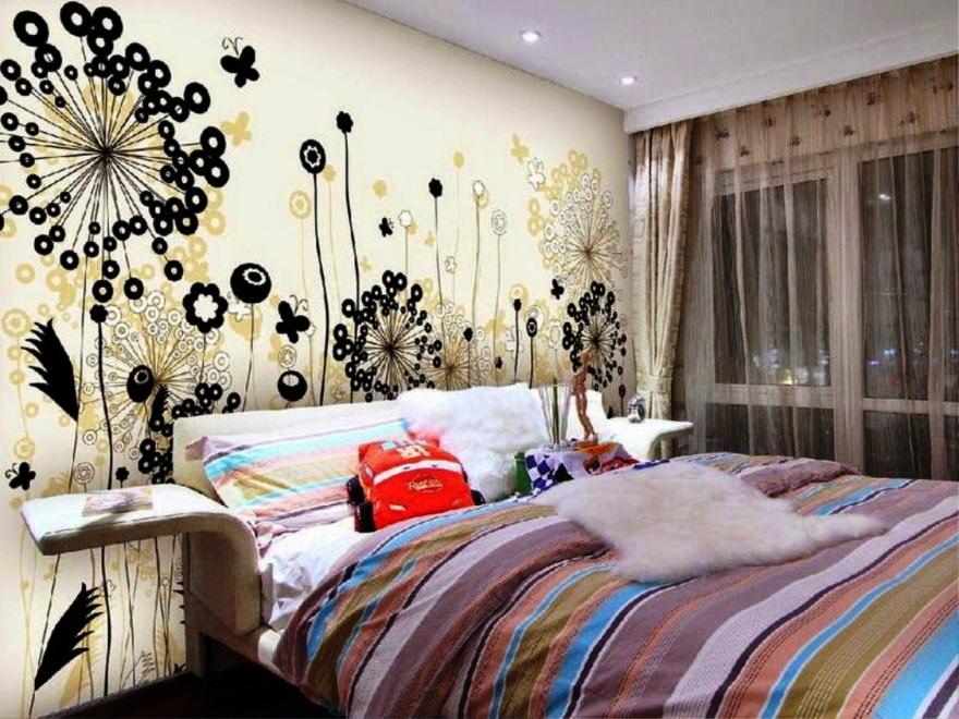 Gambar Wallpaper Dinding Kamar Anak Perempuan
